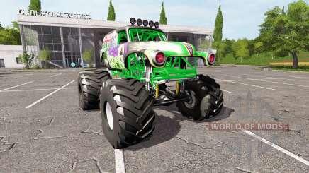 Grave Digger for Farming Simulator 2017
