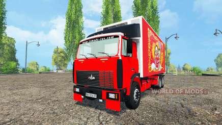 MAZ-551608 for Farming Simulator 2015