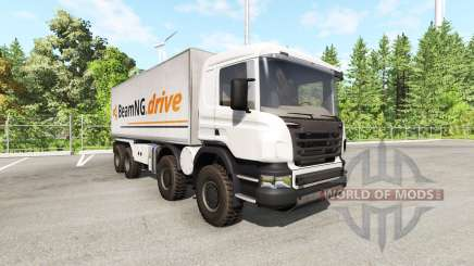 Scania 8x8 heavy utility truck v2.0 for BeamNG Drive