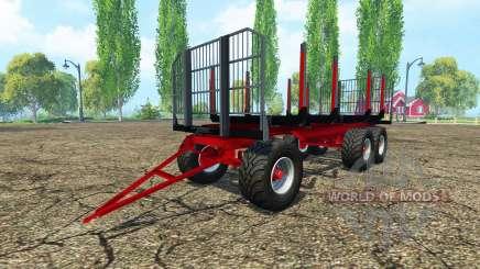 Timber trailer Fliegl for Farming Simulator 2015