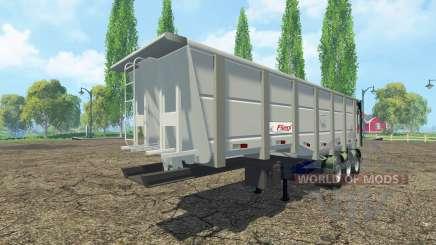 Tipper semi-trailer Fliegl for Farming Simulator 2015