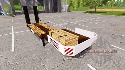 Low sweep for Farming Simulator 2017