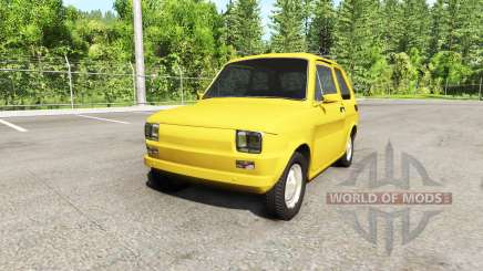 Fiat 126p v2.0 for BeamNG Drive