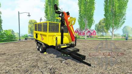 Separarately trailer v2.0 for Farming Simulator 2015