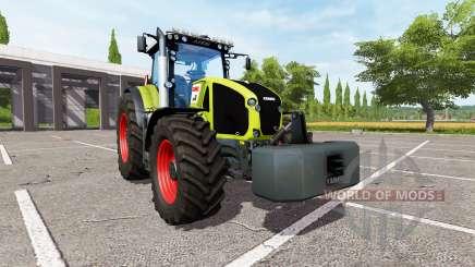 CLAAS Axion 950 v2.1 for Farming Simulator 2017