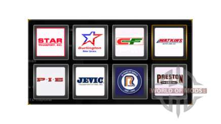 Company logos United States for American Truck Simulator