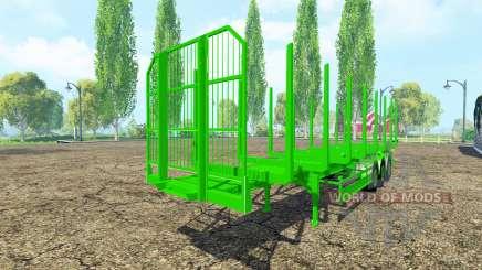 Semi-trailer Fliegl timber for Farming Simulator 2015