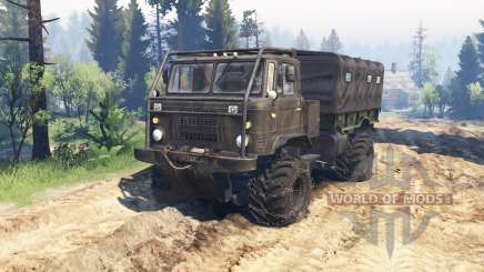 GAZ-66 ATV v2.0 for Spin Tires