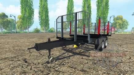 Timber trailer BRANTNER for Farming Simulator 2015