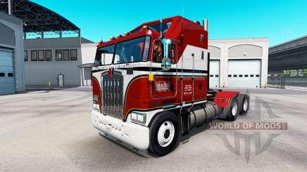 Skin Billie Joe on tractor Kenworth K100 for American Truck Simulator