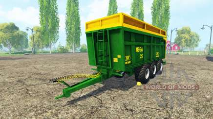 ZDT Mega 25 v2.2 for Farming Simulator 2015