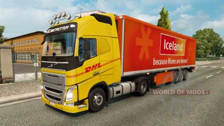Skins for truck traffic v2.2 for Euro Truck Simulator 2