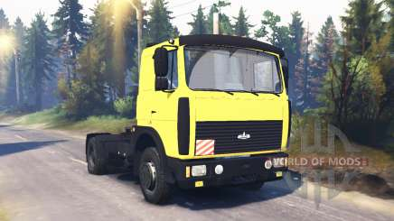 MAZ 54324 v2.2 for Spin Tires