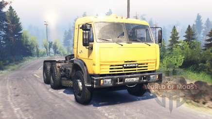 KamAZ 54115 v3.0 for Spin Tires