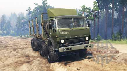 KamAZ 6350 Mustang for Spin Tires