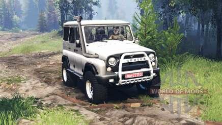 UAZ 315195 hunter v4.0 for Spin Tires