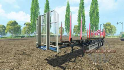 Semi-trailer Fliegl timber v3.0 for Farming Simulator 2015