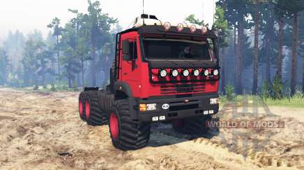 KamAZ 65221 for Spin Tires