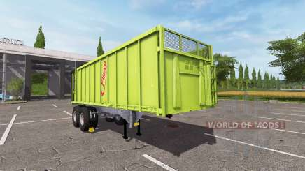 Semi-trailer tipper Fliegl for Farming Simulator 2017