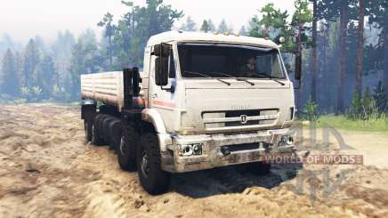 KamAZ 44108Э for Spin Tires