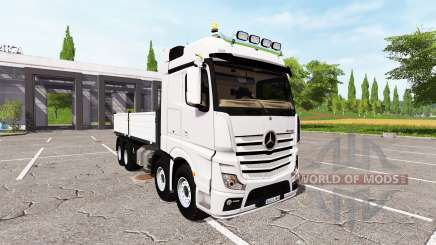 Mercedes-Benz Actros (MP4) 8x8 v1.1 for Farming Simulator 2017