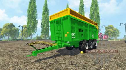 ZDT Mega 25 v4.0 for Farming Simulator 2015