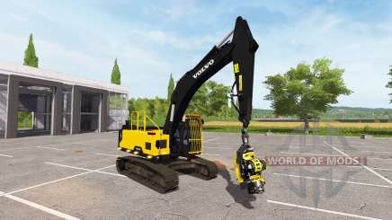 Volvo EC300E foresty cutter for Farming Simulator 2017