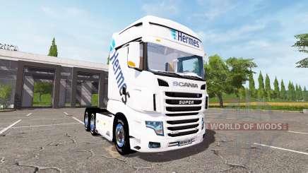 Scania R700 Evo Hermes for Farming Simulator 2017