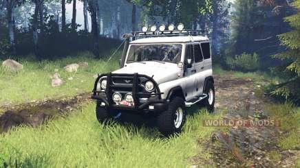 UAZ 315195 hunter v5.0 for Spin Tires