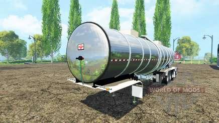 Semitrailer tank for Farming Simulator 2015