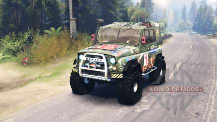 UAZ 469 Angela for Spin Tires