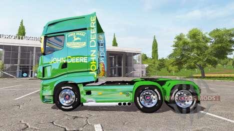 Scania R700 Evo John Deere for Farming Simulator 2017