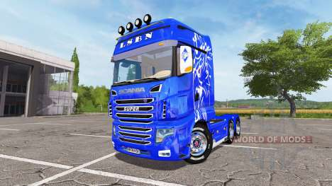 Scania R700 Evo LSBN for Farming Simulator 2017