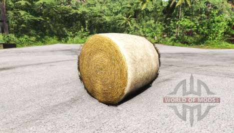 Round bale for BeamNG Drive