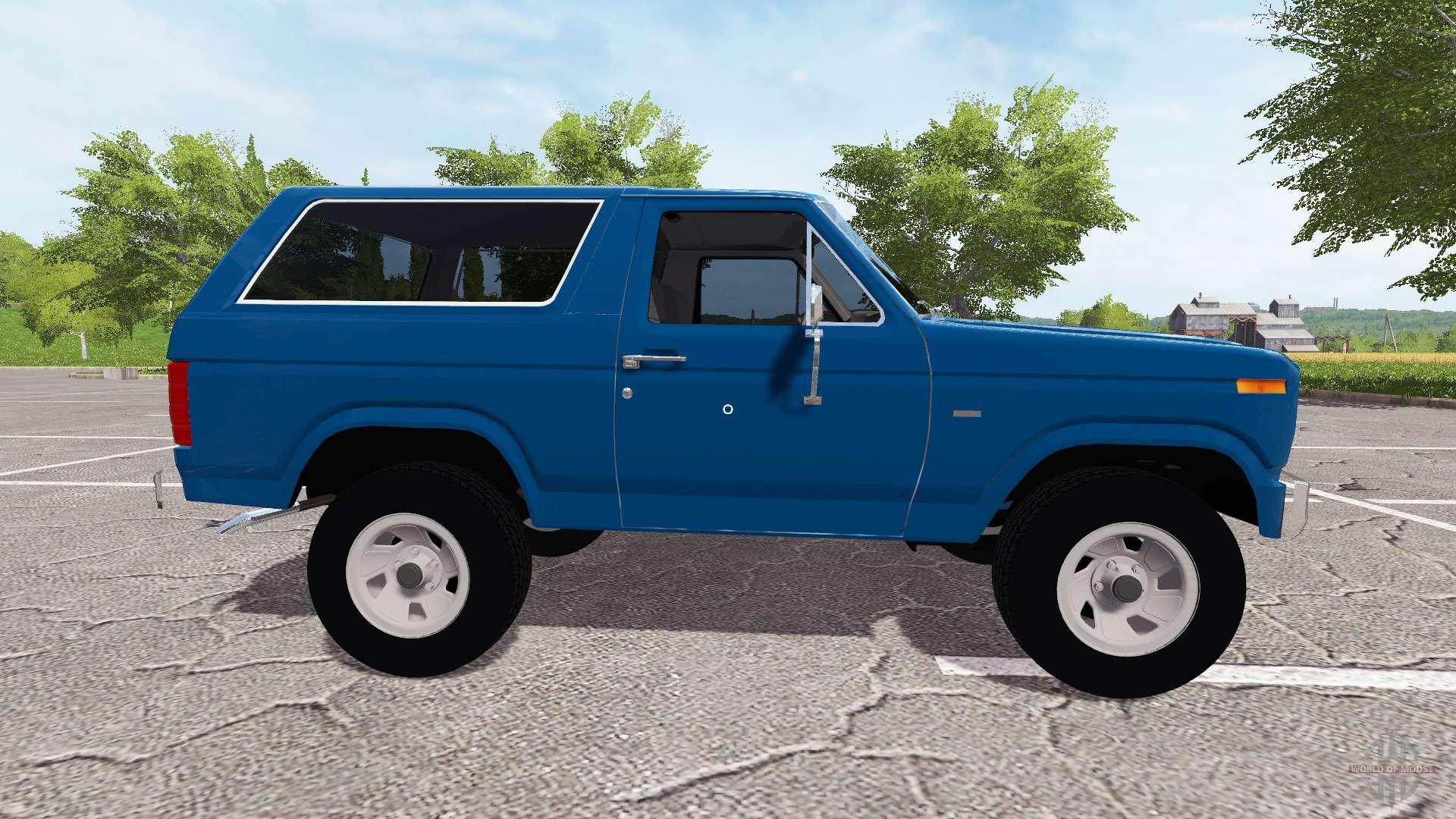 Ford Bronco XLT for Farming Simulator 2017