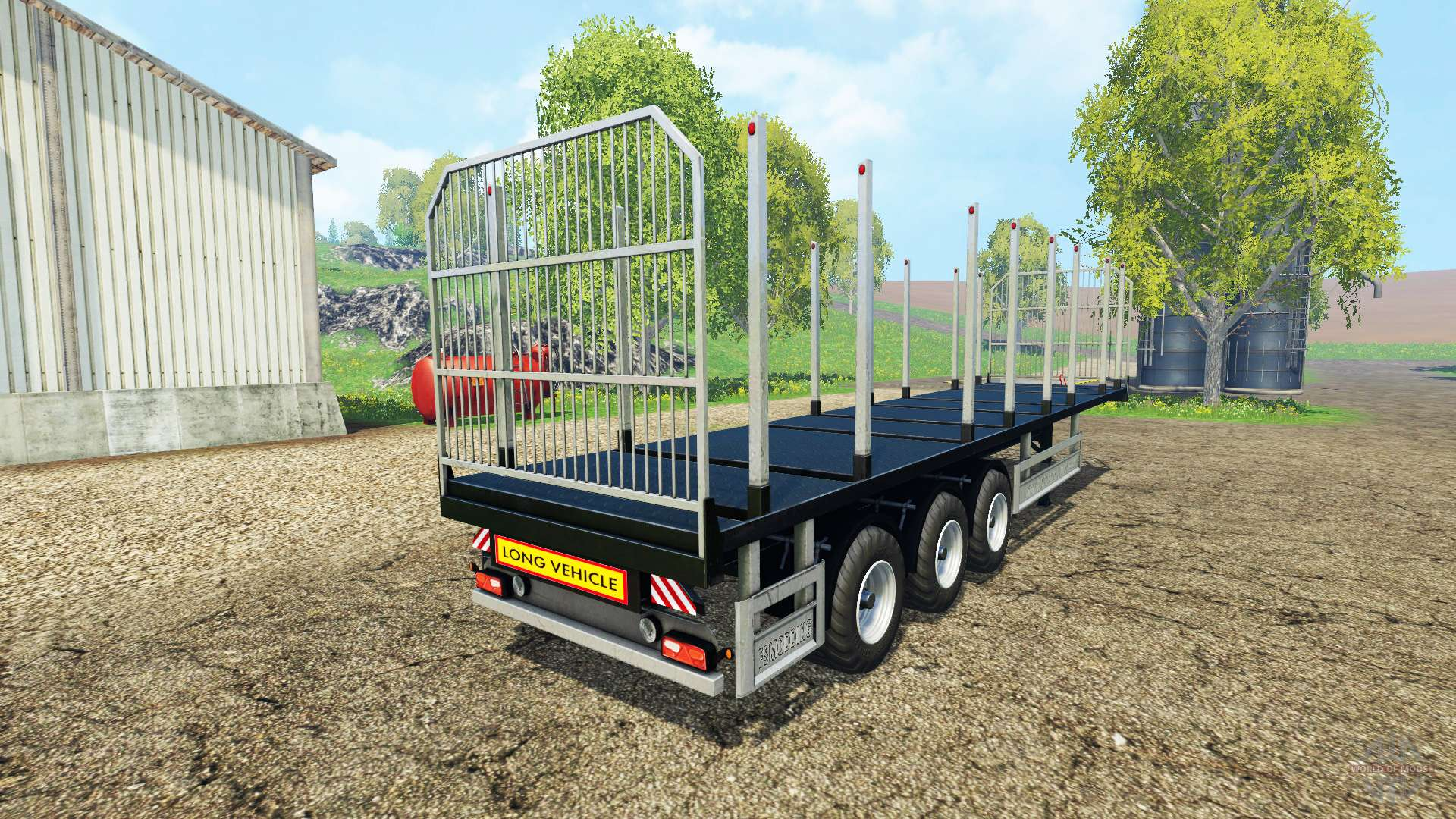 how to support a bale in farming simulator 15