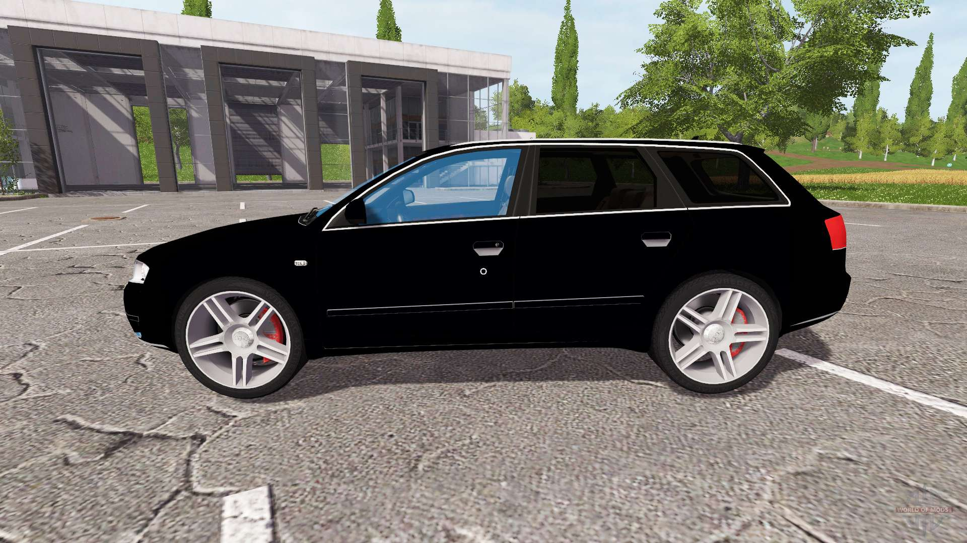 audi a4 quattro avant b7 for farming simulator 2017. Black Bedroom Furniture Sets. Home Design Ideas