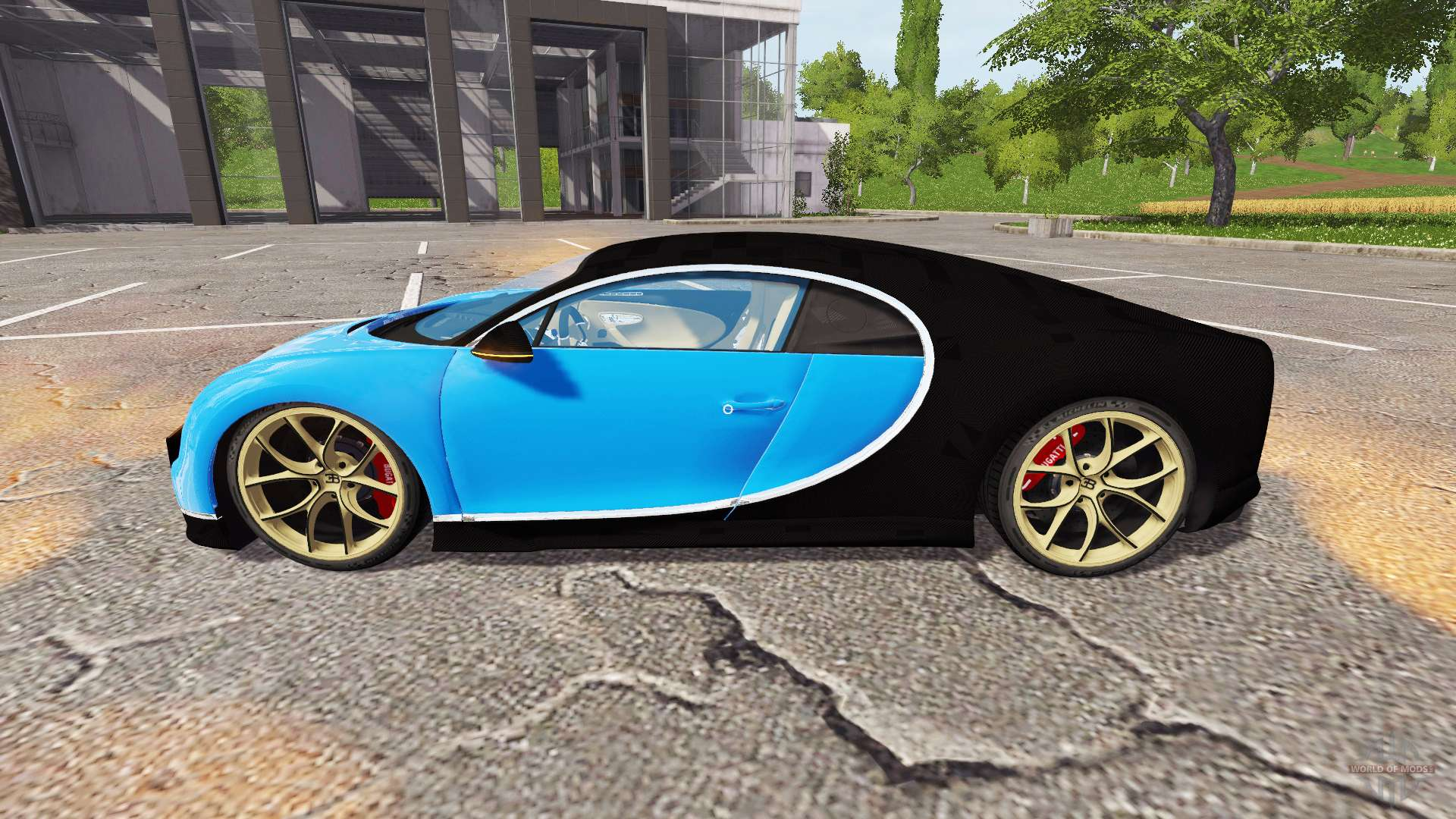 bugatti chiron for farming simulator 2017. Black Bedroom Furniture Sets. Home Design Ideas