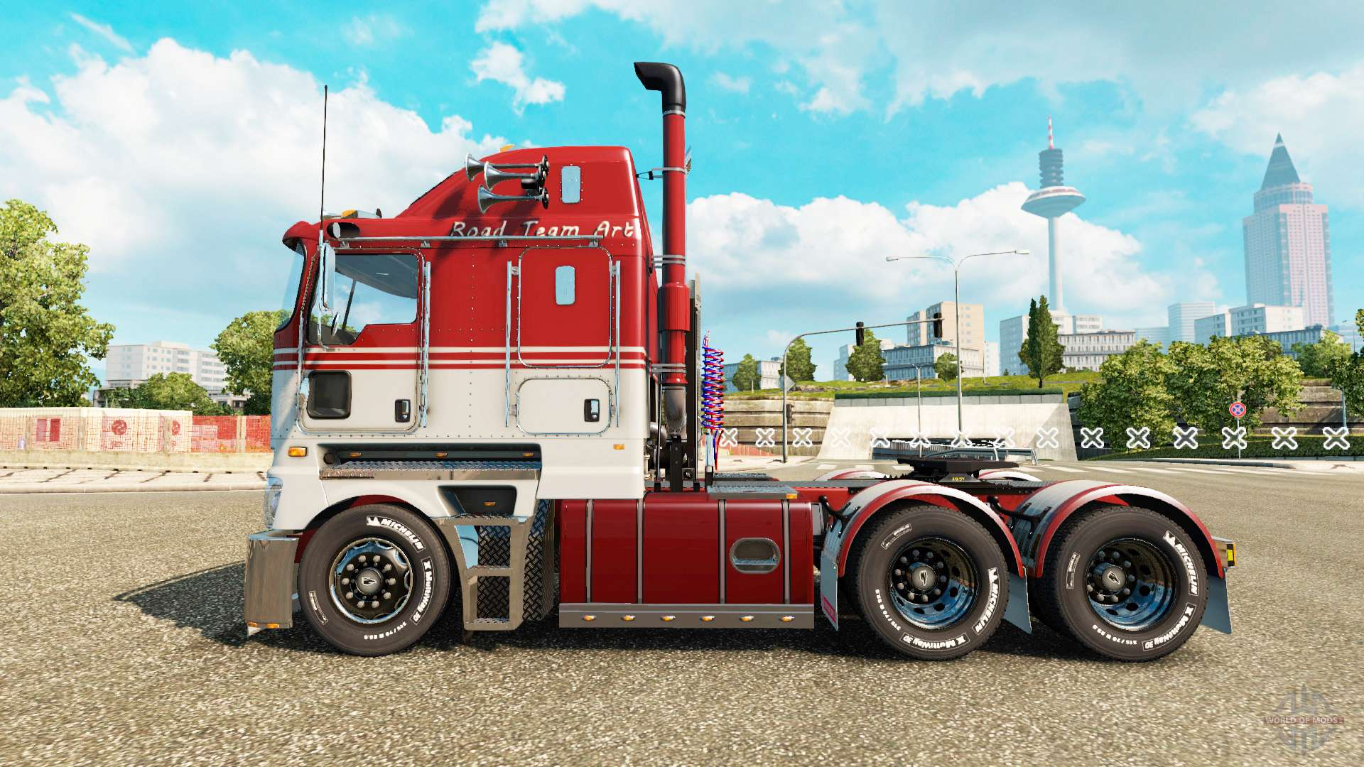 Kenworth K200 For Euro Truck Simulator 2
