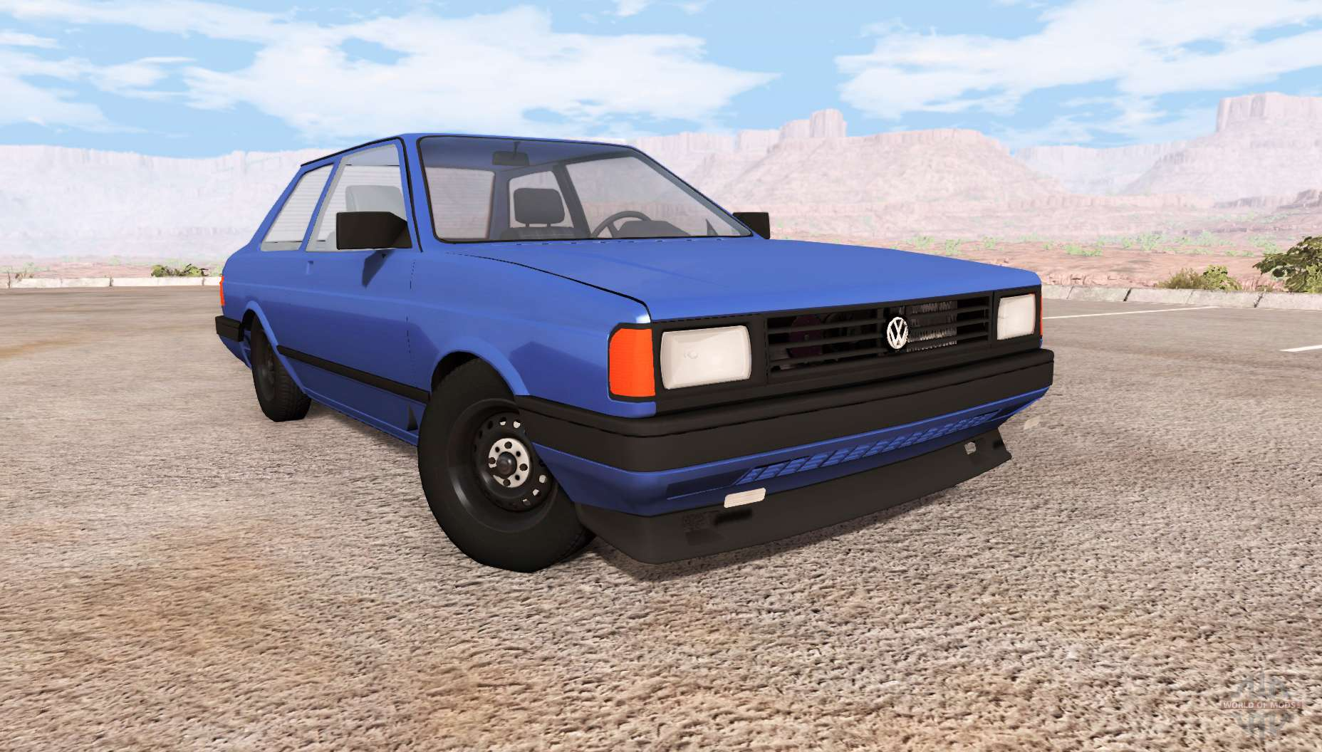 volkswagen fox 1989 v0 9 for beamng drive. Black Bedroom Furniture Sets. Home Design Ideas