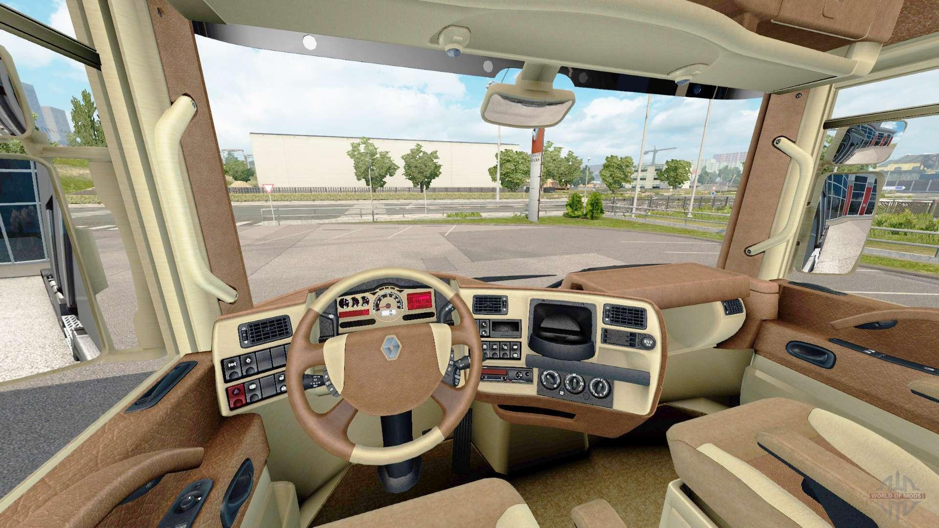Renault trucks interior