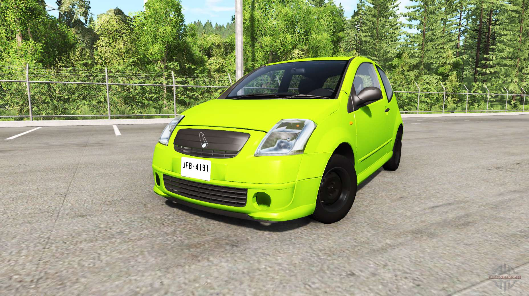citroen c2 v0 1 1 for beamng drive. Black Bedroom Furniture Sets. Home Design Ideas