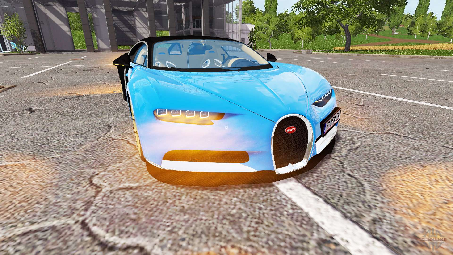 Bugatti Chiron For Farming Simulator 2017