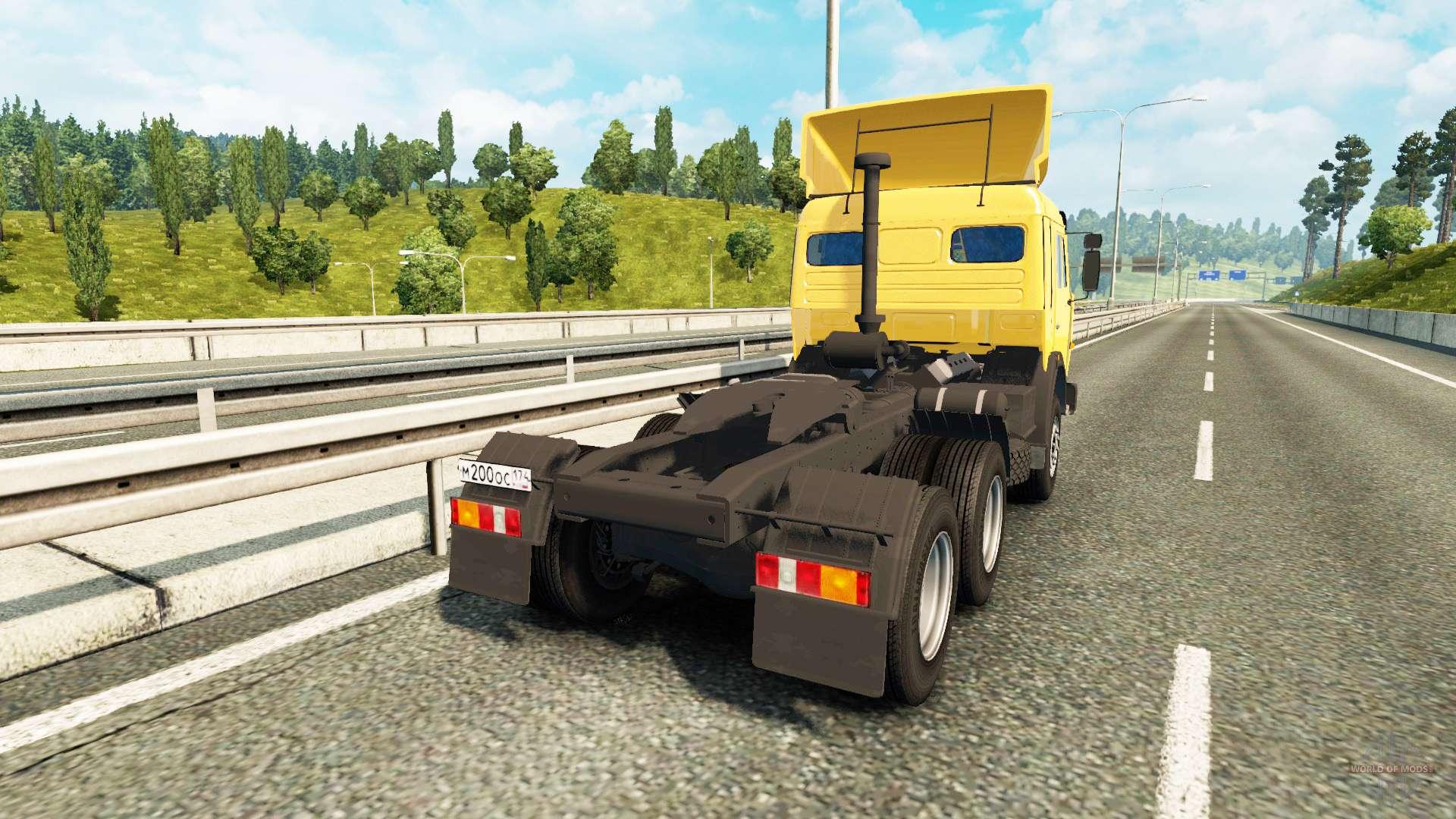 Kamaz 54115 for euro truck simulator 2 - Bac a semis ...