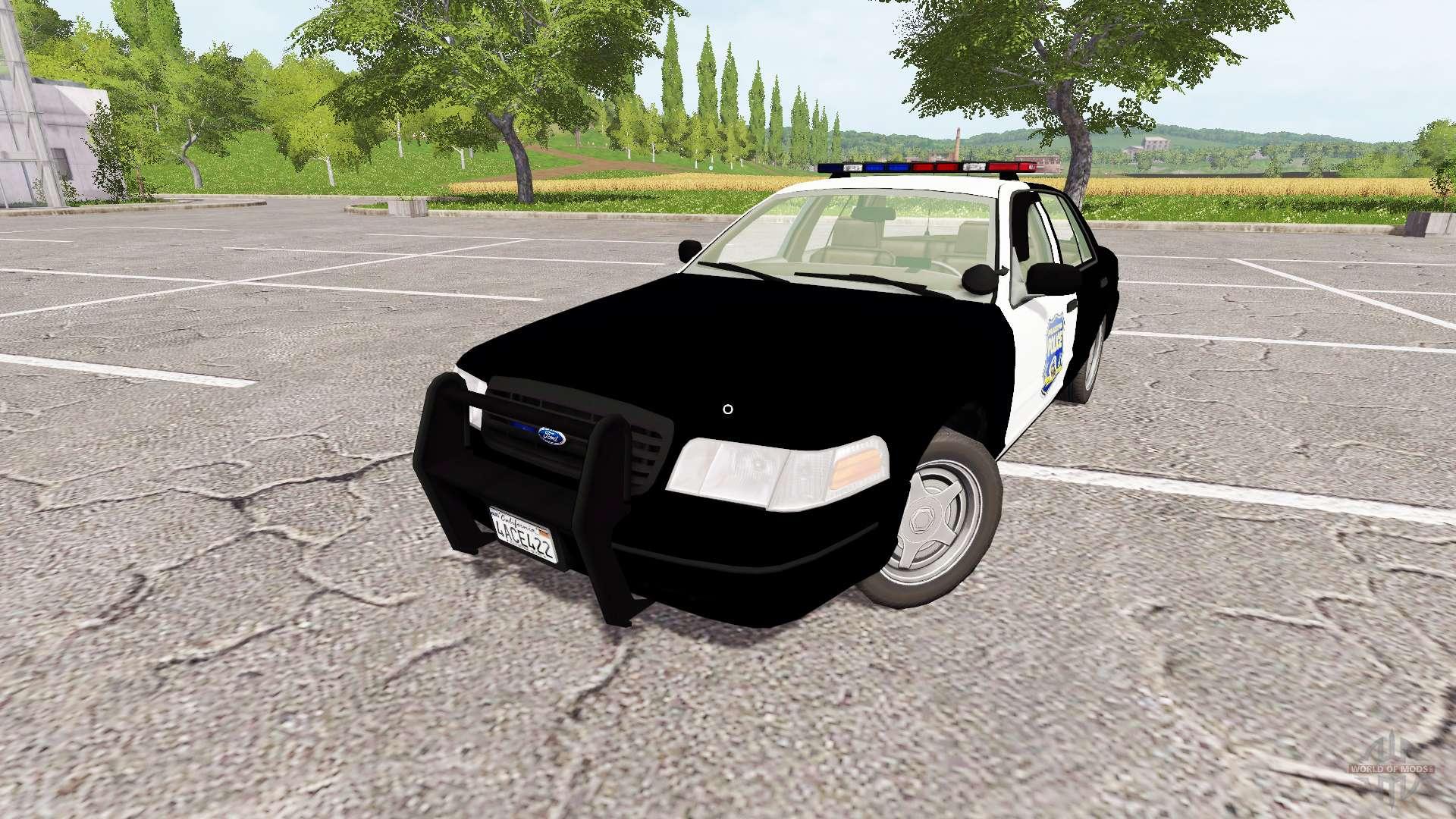 Ford Crown Victoria 2017 >> Ford Crown Victoria Police For Farming Simulator 2017