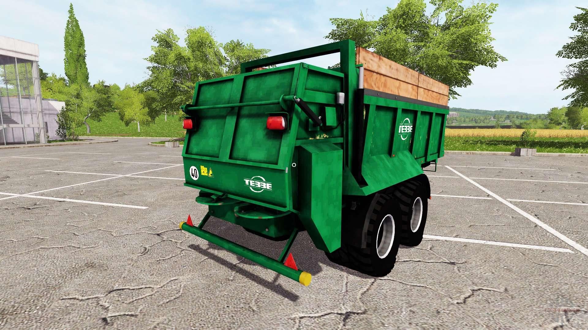 Tebbe HS 180 for Farming Simulator 2017