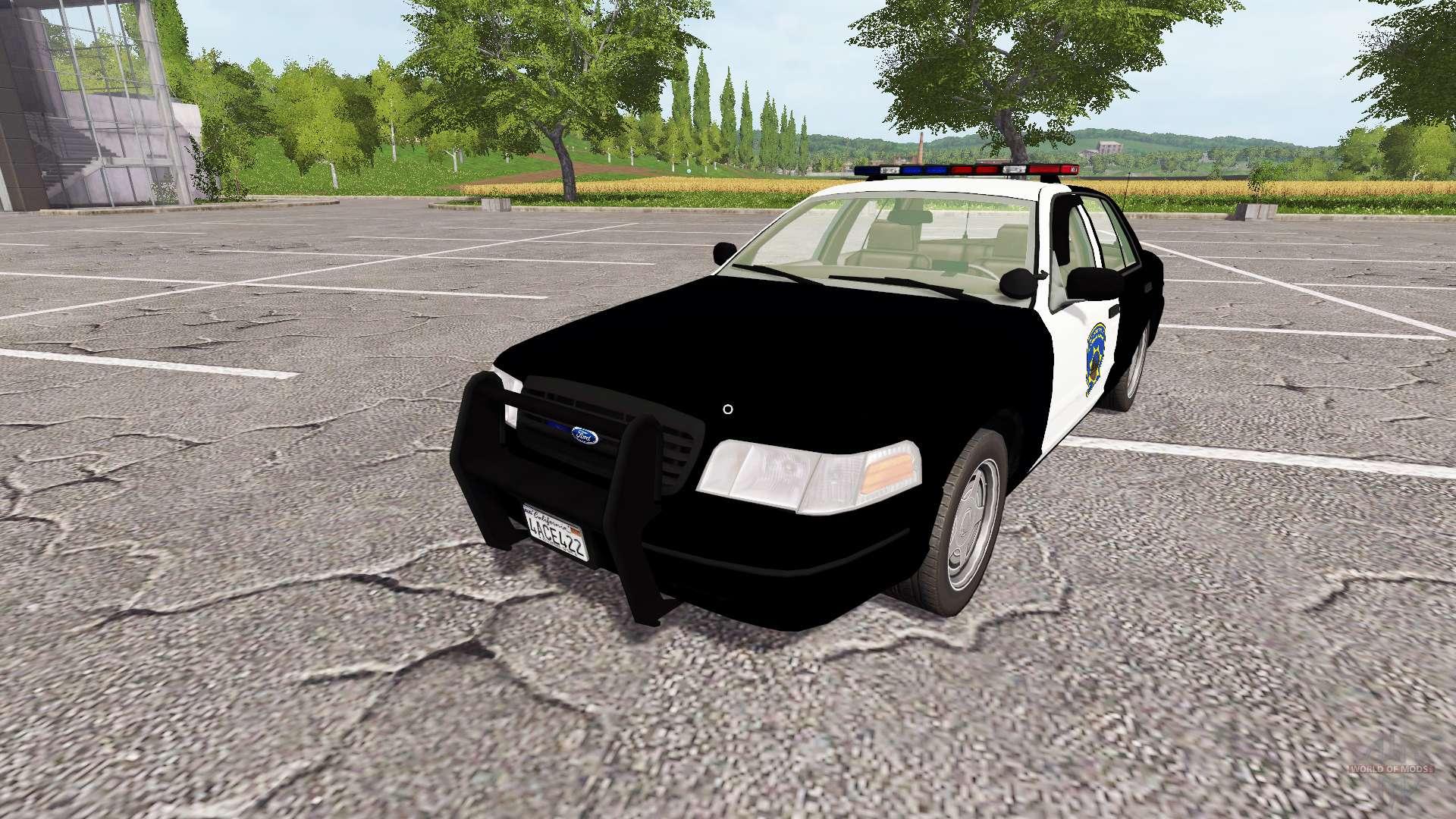 Ford Crown Victoria 2017 >> Ford Crown Victoria Police V1 1 For Farming Simulator 2017