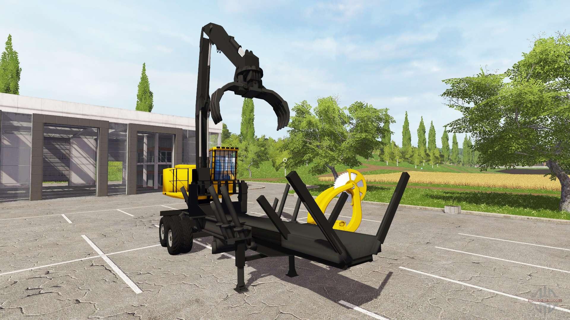 bucksaw loader for farming simulator 2017. Black Bedroom Furniture Sets. Home Design Ideas