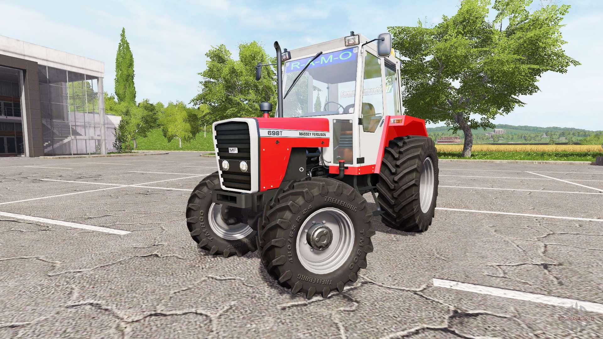 2017 Massey Ferguson 1739e Tractor – Desenhos Para Colorir