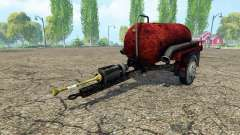 Tank manure